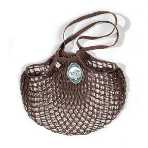 Filt  - FRENCH NET MARKET BAG MARRON SEPIA - Accessories