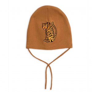 Mini Rodini  - TIGER BEANIE BROWN - Accessories