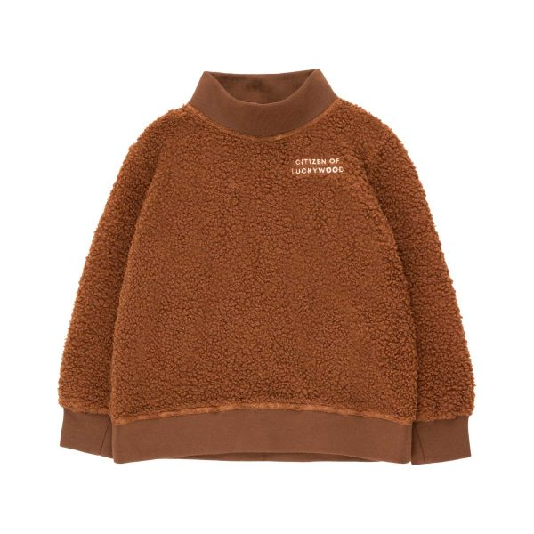 Tinycottons  - CITIZEN OF LUCKYWOOD SWEATSHIRT DARK BROWN - Clothing