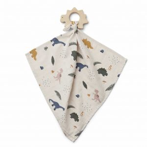 Liewood  - DINES TEETHER CUDDLE CLOTH DINO MIX - Homeware