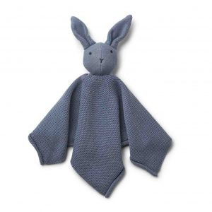 Liewood  - MILO KNIT CUDDLE CLOTH RABBIT BLUE WAVE - Homeware