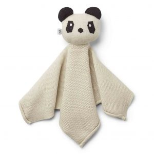 Liewood  - MILO KNIT CUDDLE CLOTH PANDA BEIGE BEAUTY - Homeware