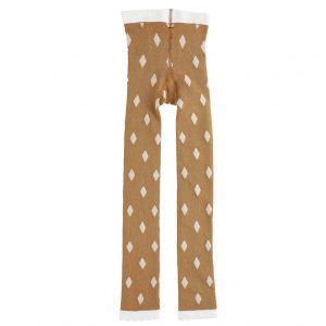 Emile et Ida  - DIAMOND TIGHTS YELLOW - Clothing