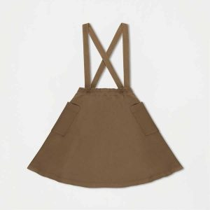 Repose AMS  - SWEAT SKIRT OLIVE - Clothing