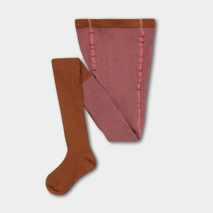 Repose AMS  - TIGHTS ROSE APRICOT COLOR BLOCK - Clothing