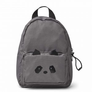 Liewood  - SAXO MINI BACKPACK PANDA STONE GREY - Accessories