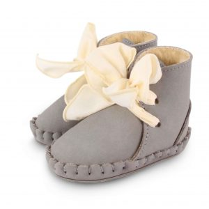 Donsje  - PINA ORGANZA LINING ELEPHANT GREY LEATHER - Footwear