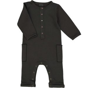 Studio Boheme  - JUMPSUIT PAPI FAUX NOIR - Clothing