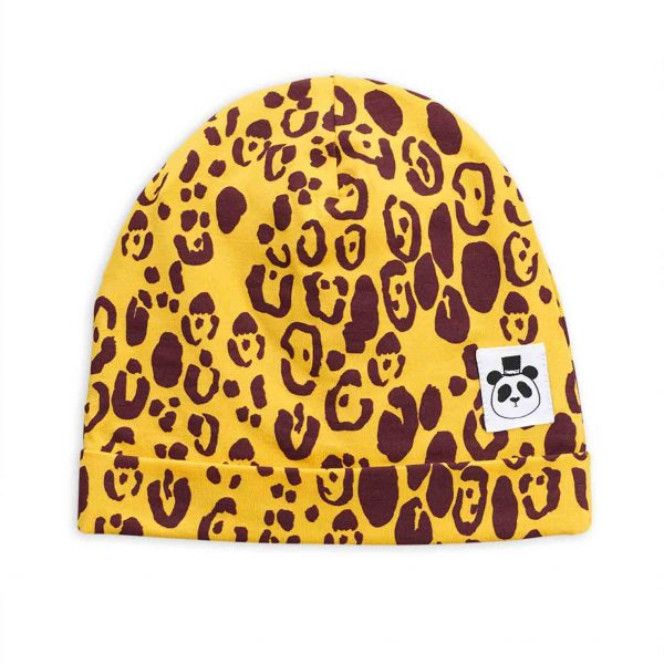 Mini Rodini  - BASIC LEOPARD BEANIE - Accessories