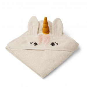 Liewood  - ALBERT HOODED TOWEL UNICORN SANDY - Homeware