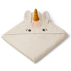 Liewood  - AUGUSTA HOODED TOWEL UNICORN SANDY - Homeware