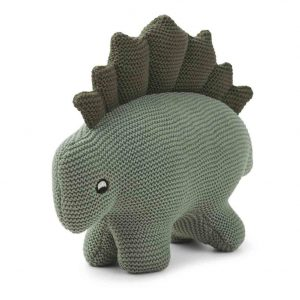 Liewood  - STEGO DINO KNIT TEDDY FAUNE GREEN - Toys