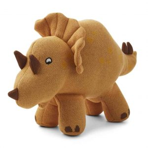 Liewood  - TRICERA DINO KNIT TEDDY MUSTARD - Toys