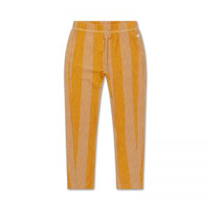 Repose AMS  - A TRICOT PANTS GOLDEN BLOCK STRIPE - Clothing