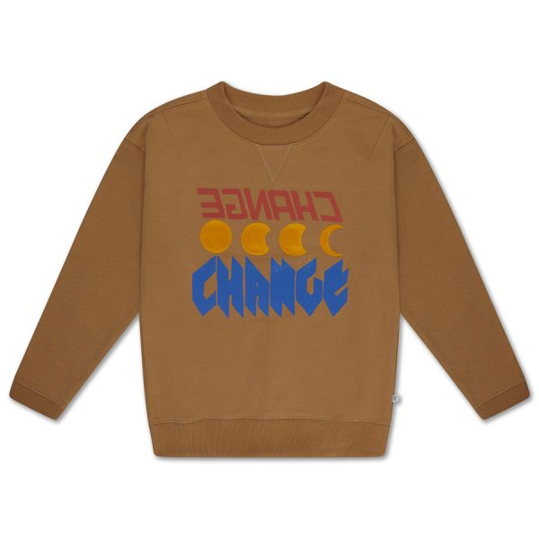 Repose AMS  - SWEATSHIRT CARAMEL SUGAR - Clothing