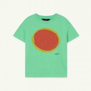 The Animals Observatory  - ROOSTER KIDS T-SHIRT GREEN SUN - Clothing