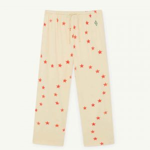 The Animals Observatory  - HORSE KIDS PANTS YELLOW STARS - Clothing
