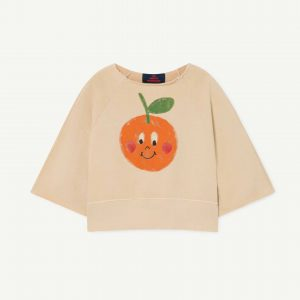 The Animals Observatory  - SQUAB KIDS SWEATSHIRT BROWN FRUIT - Clothing