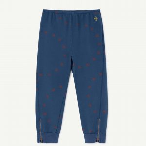 The Animals Observatory  - PANTHER KIDS PANTS BLUE STARS - Clothing