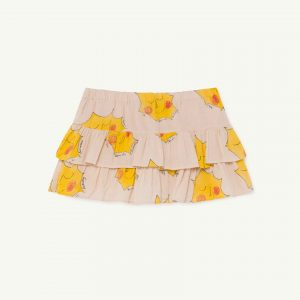 The Animals Observatory  - KIWI KIDS SKIRT ROSE SUNS - Clothing