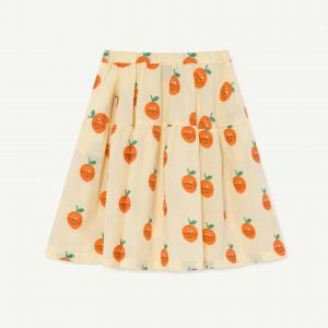 The Animals Observatory  - TURKEY KIDS SKIRT YELLOW - Clothing