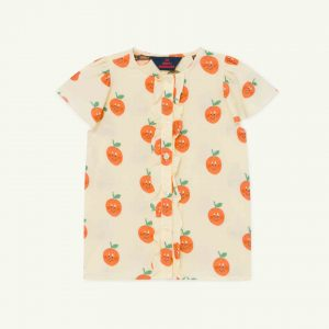 The Animals Observatory  - PARAKEET KIDS BLOUSE YELLOW - Clothing