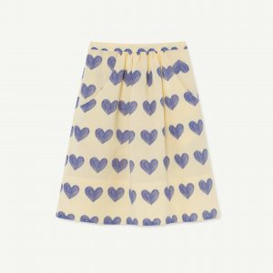 The Animals Observatory  - SOW KIDS SKIRT YELLOW HEARTS - Clothing