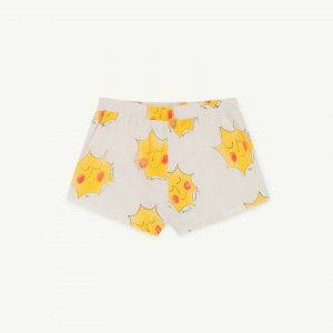 The Animals Observatory  - PUPPY KIDS SWIMSUIT WHITE SUNS - Clothing