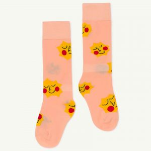 The Animals Observatory  - HEN KIDS SOCKS SOFT PINK - Clothing