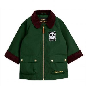 Mini Rodini  - COUNTRY JACKET DARK GREEN - Clothing