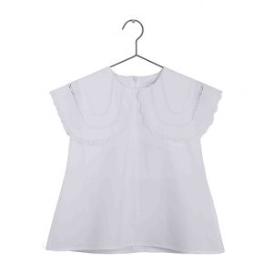 Wolf & Rita  - CLARISSA BLOUSE WHITE - Clothing