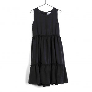 Wolf & Rita  - PLACIDA DRESS BLACK - Clothing