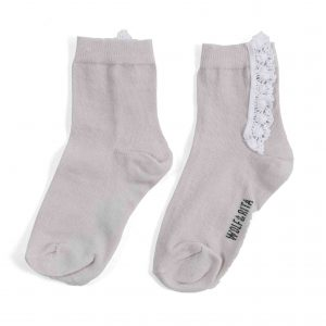 Wolf & Rita  - LACE SOCKS ECRU - Clothing
