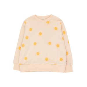 Tinycottons  - SUN SWEATSHIRT LIGHT CREAM YELLOW - Clothing