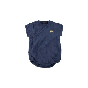 Tinycottons  - SLEEPY SUN WRAP BODY LIGHT NAVY - Clothing