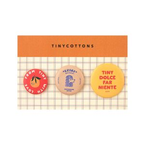 Tinycottons  - DOLCE FAR NIENTE PINS MULTICOLOR - Accessories