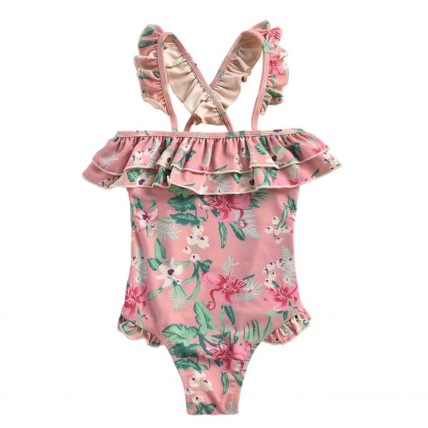 Louise Misha  - BATHING SUIT ZACATECAS SIENNA FLAMINGO - Clothing