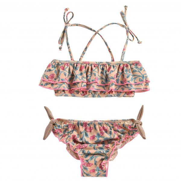 Louise Misha  - BIKINI ZACATA LEMON FLOWERS - Clothing
