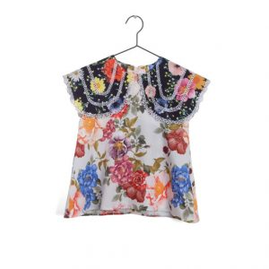 Wolf & Rita  - CLARISSA BLOUSE FLOWERS - Clothing