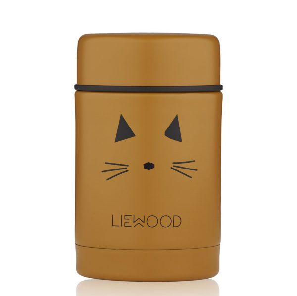 Liewood  - NADJA FOOD JAR CAT MUSTARD - Homeware