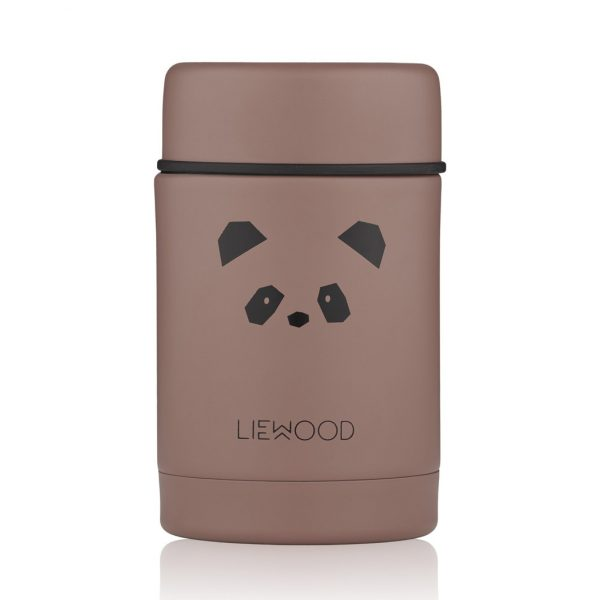 Liewood  - NADJA FOOD JAR PANDA DARK ROSE - Homeware