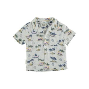The New Society  - PALMIER SHIRT HAWAII - Clothing