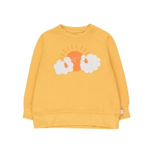 Tinycottons  - SUN SWEATSHIRT YELLOW BRICK - Clothing