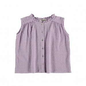 The New Society  - NYMPHEA BLOUSE ORCHID BLOOM - Clothing