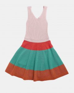 Caramel  - REDCHURCH KNITTED DRESS MULTI COLOURED - Clothing