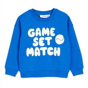 Mini Rodini  - GAME SWEATSHIRT BLUE - Clothing