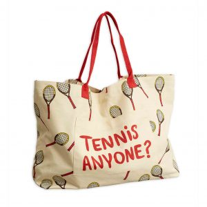 Mini Rodini  - TENNIS BAG LARGE OFFWHITE - Accessories