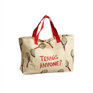 Mini Rodini  - TENNIS BAG SMALL OFFWHITE - Accessories