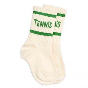 Mini Rodini  - TENNIS SOCKS OFFWHITE - Clothing