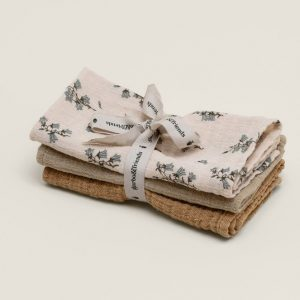 Garbo&Friends  - BLUEBELL BURP CLOTHS 3 PACK - Homeware